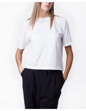 Camiseta manga recta