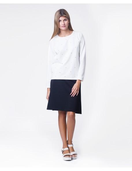 Falda en línea A